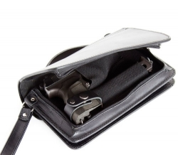 Сумка-барсетка для прихованого носіння зброї