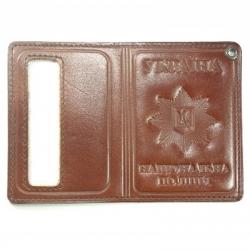 Обкладинка для посвідчення працівників МВС книжкова | МВС Україна